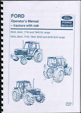 "Ford ""40 Series"" Tractor Operator Manual Book"