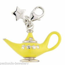 Tingle Aladdins Lamp Sterling Silver Charm with Gift Box and Bag SCH218
