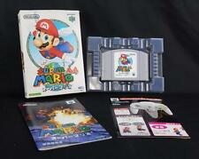 Super Mario 64 Nintendo 64 N64 Japan Import CIB Complete w/Manual, Insert & Box