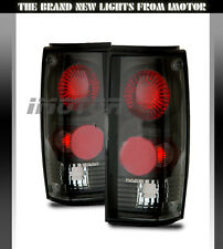 82-93 Chevy S10 pick up/GMC Sonoma Tail Lights Rear Trunk Brake Lamps Black 92
