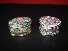 Pair of Trinket Boxes William Morris Collection
