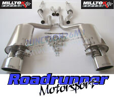 Milltek Audi RS4 B7 Exhaust Cat Back Resonated Inc Valves Polished TUV SSXAU061