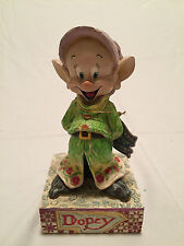 "NEW - Walt Disney Showcase Collection ""DOPEY"" by Jim Shore"