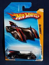 Hot Wheels 2010 HW Premiere Release 49 / 52 Batmobile Black w/ Red Stripes 10SPs