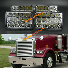 LED Headlights Sealed Beam Headlamps For FREIGHTLINER FLD 120 FLD 112 4 Pieces
