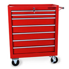 EBERTH Carro de herramientas 7 cajones taller caja garaje macanico cerradura