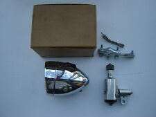 VINTAGE VITARAM CHROOM FRONT / HEAD LIGHT + DYNAMO FOR BICYCLE - NOS - NIB