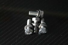 Ford Pinto Water Pump Pulley Bolts Escort MK1 MK2 Capri Cortina Stainless Steel