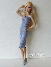 OOAK Sexy DRESS & JEWELRY for Model Muse Barbie Basics doll FASHION NO DOLL d4e