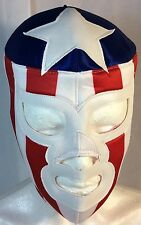 THE AMERICAN/EL AMERICANO WRESTLING-LUCHADOR MASK! AWESOME!!GREAT FOR HALLOWEEN!