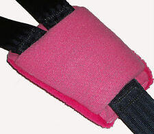 Baby Girl Pink Buckle Crotch Car Seat Pram Highchair Harness Cover Belt Pad