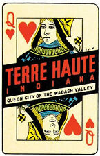 Terre Haute, Indiana -IN-  Vintage-Looking Travel Decal