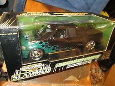 SLAMMED ford F 150 extended cab BLACK hobby pickup 1/18 american muscle truck