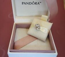 NEW! Authentic Pandora Ribbons Of Love Clear CZ Charm #792046CZ $40