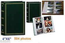Photo Album 3 Ring Pocket Hold 504 Photos Storage Case Display Picture Book 4x6""