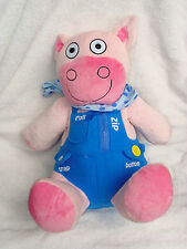 Avon Tiny Tillia Learn To Dress Dilly Plush Pig Doll Soft Toy 15""