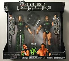 WWE FYE Exclusive Deluxe Aggression DX SHAWN MICHAELS & TRIPLE H WWF