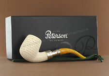 Peterson of Dublin - PIPE  MEERSCHAUM SPIGOT 69 Air Conditioned Decorated