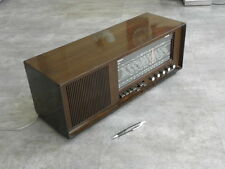 vintage radio tsf valve Work grandin lindau tuner old tube lamp art deco wood