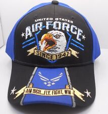 U.S. Air Force 1947 Aim High Fly Fight Screaming Eagle  Ball Cap Hat New