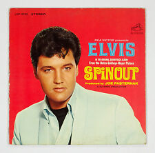 Elvis Presley Spinout 1977 Vinyl LP with 12x12 insert