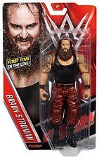 WWE BRAUN STROWMAN BRAWN NXT MATTEL BASIC SERIES 64 WRESTLING ACTION FIGURE WWF