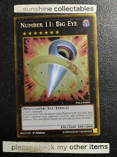 YUGIOH GOLD INFINITE PGL3-EN063 NUMBER11:BIG EYE