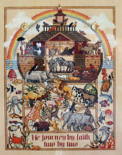 Dimensions Charts & Charms Noah's Journey Ark Counted Cross Stitch Pattern 1996