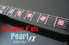 Las Vegas Rolling Dice RED PEARL Fret Marker Inlay Set Sticker for BASS & GUITAR