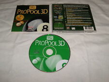 ProPool 3D (PC, 1998) Near Mint Game