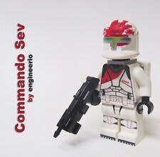 LEGO Custom Star Wars Clone Trooper Minifigure SEV Republic Commando ARC