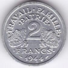 1944 B Francia 2 francos *** *** *** UNC Coleccionistas