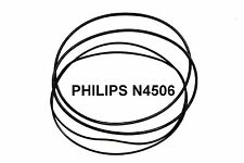 COURROIES SET PHILIPS N4506 MAGNETOPHONE A BANDE EXTRA FORT NEUF FABRIQUE N 4506