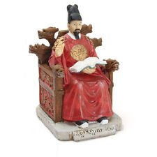 Korean Traditional Figure  Doll Handmade Figure King of Korea + Gift