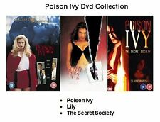 POISON IVY MOVIES 3 FILM COLLECTION PART 1 2 LILY 3 SECRET SOCIETY  NEW UK DVD
