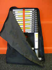 Black Canvas Carry Bag with Strap For 3.8M Telescopic Ladder