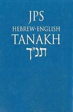 2009-07-14, Tanakh: Blue Cover (Hebrew Edition), Jewish Publication Society, Ver