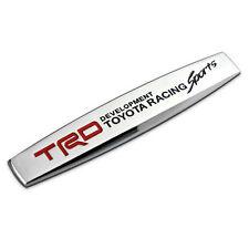 TRD Racing Sports Car Auto Emblem Badge Sticker Fender Chrome for Toyota
