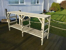 Wooden Greenhouse Staging - Very Solid - 6ft - 2 Tier