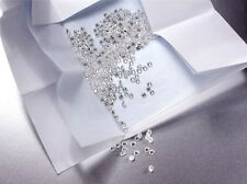 PAVE' Round Cut Lab Created Diamond D-IF 0.8mm Heart & Arrow 100 ps