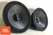 "JBL 2118H 8"" 8-ohm Midrange Speaker Pair, DCR's 5.1 / 5.0 - Tested & Clean 1682"