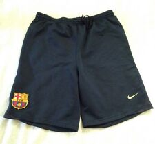 Nike FCB Barcelona Shorts Spain Camp Athletic Team Training Black Small SZA