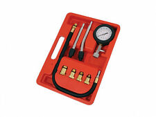 Petrol Engine Compression Tester Test Gauge Kit Car Motorcycle Garage Tool