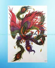 """Chinese dragon 8.25""""extra large temporary arm tattoo body art"""