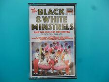 """THE BLACK & WHITE MINSTRELS  """" 30 GOLDEN GREATS """"  CASSETTE"""