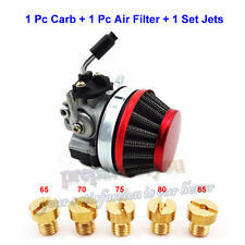 Racing Carburetor Filter Carb Jets 50-80cc Motorized Bicycle 2 Stroke Push Bike