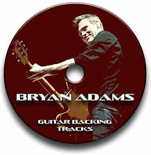 BRYAN ADAMS ROCK STIL AUDIO GUITAR PLAYBACK TITEL COLLECTION JAM TITEL CD
