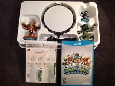Nintendo Wii U SKYLANDERS SWAP FORCE Limited Edt Starter Pack Gold Wash Buckler