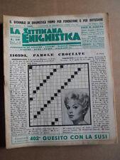 Settimana Enigmistica n°1631 1963  [D55]