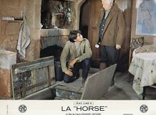 JEAN GABIN MARC POREL  LA HORSE  1970 PHOTO D'EXPLOITATION VINTAGE #13